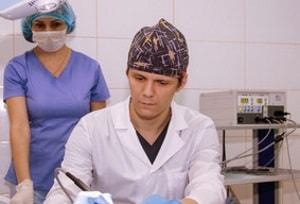 электрохирургия при маточном наросте