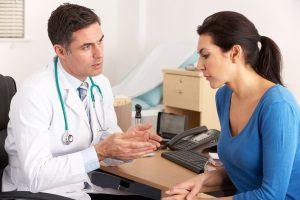 прием врача при психологической проблеме